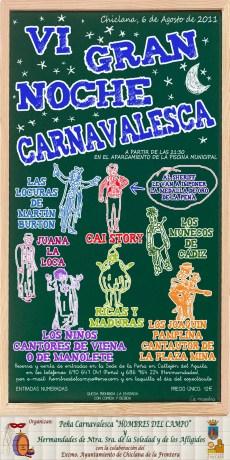 VI Gran Noche Carnavalesca, peña 'Los Hombres del Campo', Chiclana